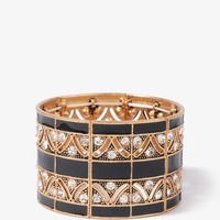 Lacquered Geo Cutout Bracelet | FOREVER21 - 1019572886
