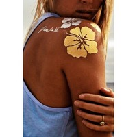 Flash Tattoos 'Goldfish Kiss H2O' | The Orchid Boutique