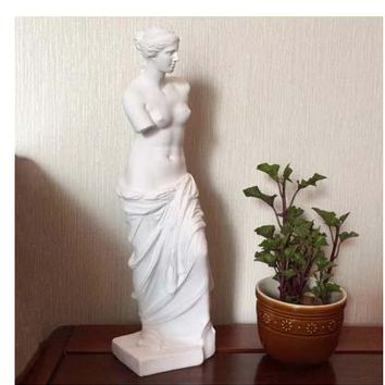 Continental furniture Decoration Art Characters Venus statue resin sculpture home living room study decorative arts and crafts