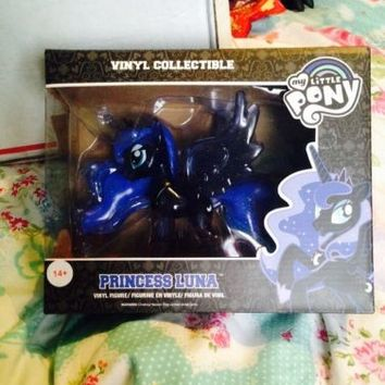 My Little Pony Princess Luna Funko Rare Variant Glitter Clear Translucent Figure