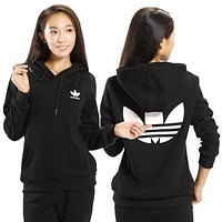 """Adidas"" Women Casual Sweatshirt Top Sweater Pullover"
