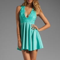 keepsake Need Your Love Lace Dress in Mint from REVOLVEclothing.com