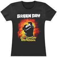 Green Day Women's 21st Century Girls Jr Black