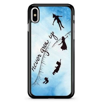 Peter Pan Never Grow Up 2 iPhone X Case