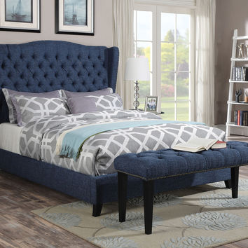 Faye Eastern King Bed 20877EK
