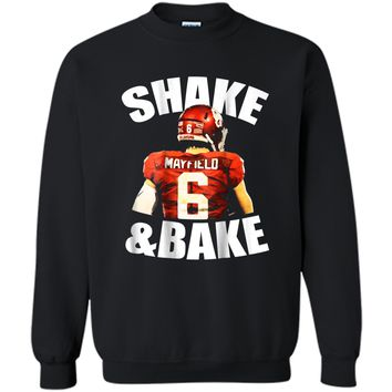 Shake And Bake  Printed Crewneck Pullover Sweatshirt
