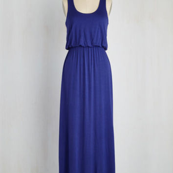 Breezy Night Stroll Maxi Dress in Blue | Mod Retro Vintage Dresses | ModCloth.com