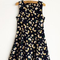 Summer Dress with Daisy Print