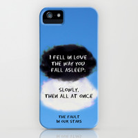 TFIOS Quote #1 iPhone & iPod Case by Jerry Maestas