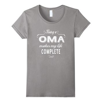 Being A Oma Grandma Gifts Mothers Day Women T-shirt
