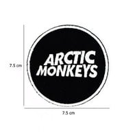 Arctic Moneys Music Band Logo Embroidered Iron on Applique Patch By Sonata