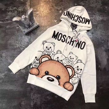ICIKN6V 'MOSCHINO'' Women Hot Hoodie Cute Sweater