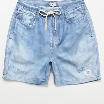 "Modern Amusement Denim 17"" Swim Trunks at PacSun.com"