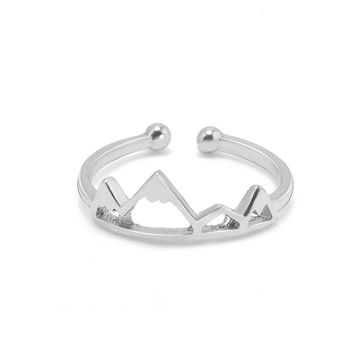 Cute Mountains Shaped Ring for All (Adjustable)
