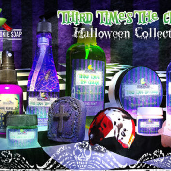 """Third Time's The Charm"" Halloween Collection"
