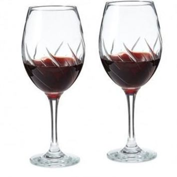 Global Amici Aerating Wine Glass 12oz | Set of 2