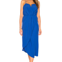 ELLIATT Envision Midi Dress in Ultramarine