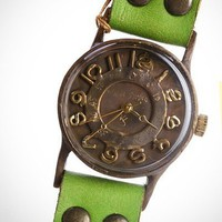 dandy style handcrafted watch wing flap | handmadewatches - Jewelry on ArtFire