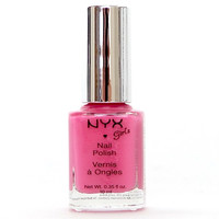 Dusty Pink NYX Girl Nail Polish