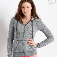 Aeropostale  LLD Sweater Fleece Full-Zip Hoodie