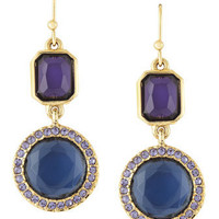 ABS by Allen Schwartz - Double Drop Earrings - Last Call