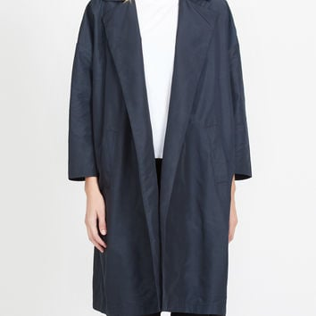 Lightweight Oversized Open Front Trench Coat
