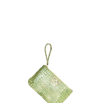 Risky Biz Wristlet in Ice-Kissed Pine