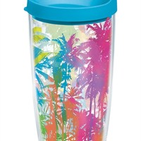 Neon Palm Trees - Wrap with Lid | 16oz Tumbler | Tervis®