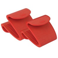 Trudeau Set of 2 Silicone Pinch Grips, Colors may vary