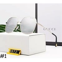 GUCCI Men's and Women's Tide Brand High Quality Sunglasses F-A-SDYJ #1