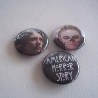 American Horror Story Buttons