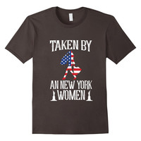 Patriotic American Flag Taken By An New York Women T-Shirt