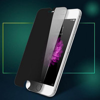 Anti Peep Nanometer Toughened Glass Screen Protector for iPhone 7 7 Plus & iPhone 6 6s plus & iPhone 5s se + Gift Box