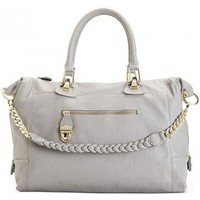Steve Madden BSOCIALL Satchel Handbag w/ Gold Zipper Trim