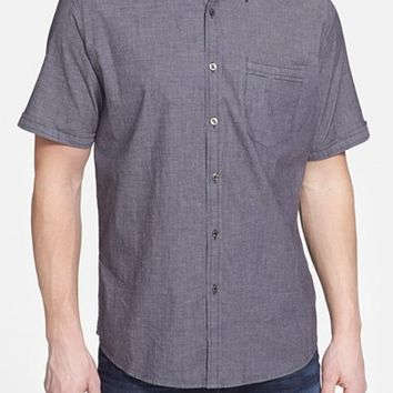 Men's James Campbell 'Madlong' Regular Fit Short Sleeve Sport Shirt,