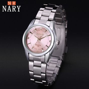 NARY New Fashion watch women's Rhinestone quartz watch