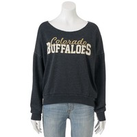 Colorado Buffaloes Burnout Fleece Sweatshirt - Women's, Size: