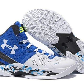 DCCKL8A Jacklish Under Armour Curry 2 Camo White Blue Black For Sale
