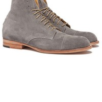 Vern Suede Boot - Grey