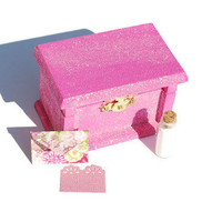 Tooth Fairy Gift Box, Pink, Fairy Glitter