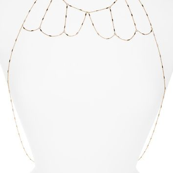 Topshop Collar Body Chain | Nordstrom
