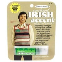Instant Irish Accent Breath Spray