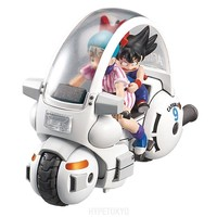 Dragon Ball Mecha Collection Series Plastic Model : Dragon Ball Vol.1 Bulma's Capsule NO.9 Motorcycle - HYPETOKYO