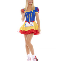 Shop Halloween Costumes - Adult Costumes & Kids Costumes - Costume Hub - Teen Snow White Fairest of All Costume - - Storybook & Fairytale - Storybook & Fairytale > Snow White