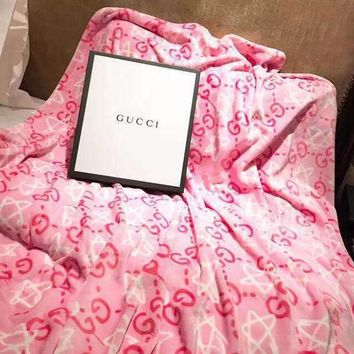 GUCCI Conditioning Throw Blanket Quilt For Bedroom Living Rooms Sofa