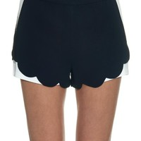 AJ scalloped-hem crepe shorts | A.L.C. | MATCHESFASHION.COM US