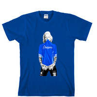 Marilyn Monroe Dodgers Unisex T-shirt Sports Clothing