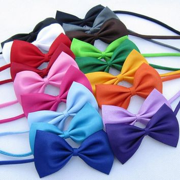 Cat Dog Adjustable Bow Tie