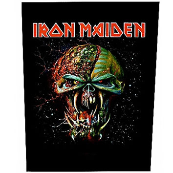 Iron Maiden Sew On Canvas Back Patch Final Frontier Logo
