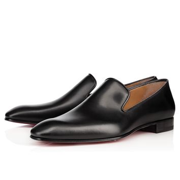 DANDELION FLAT BLACK Calf - Men Shoes - Christian Louboutin